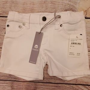 Kids white shorts
